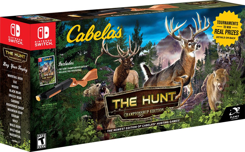 Cabela's The Hunt Nintendo Switch Game
