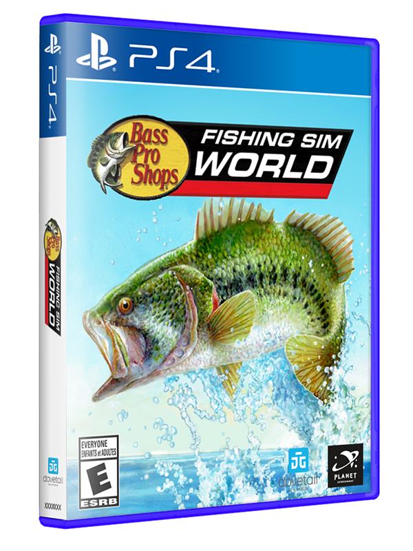 Bass Pro Shops's Fishing Sim World PS4 Game