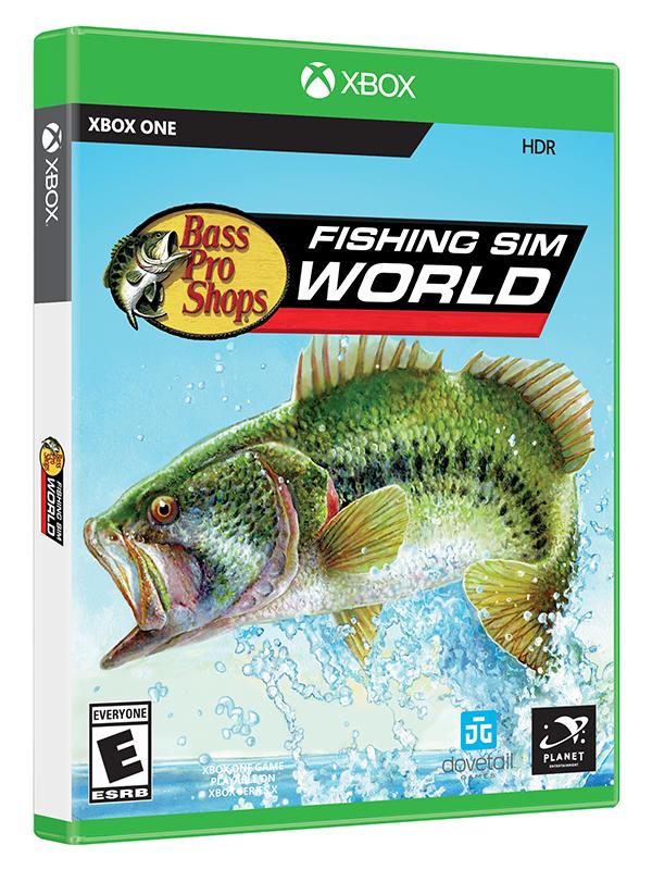 Bass Pro Shops's Fishing Sim World Xbox Game